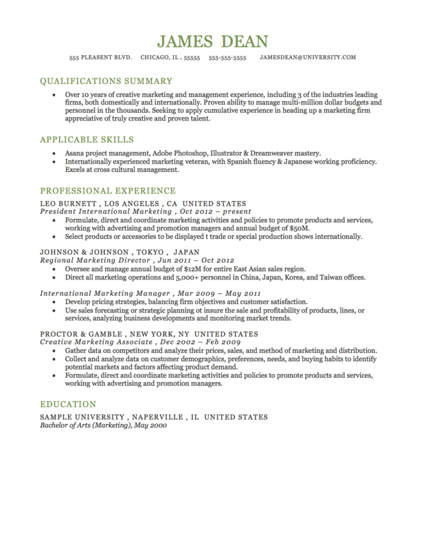 Resume Formats Rev Chronological Functional Amp Combo